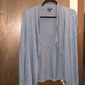 Ann Taylor Sweaters - ANN TAYLOR gray cardigan. Petite small